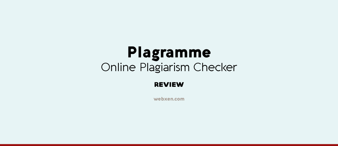 free plagiarism checker reviews